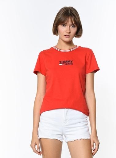 Tommy Hilfiger Tişört Kırmızı